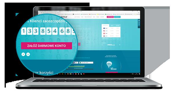 Zakładanie konta w kantorze internetowym ekantor.pl