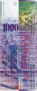 1000 franków szwajcarskich, ekantor.pl