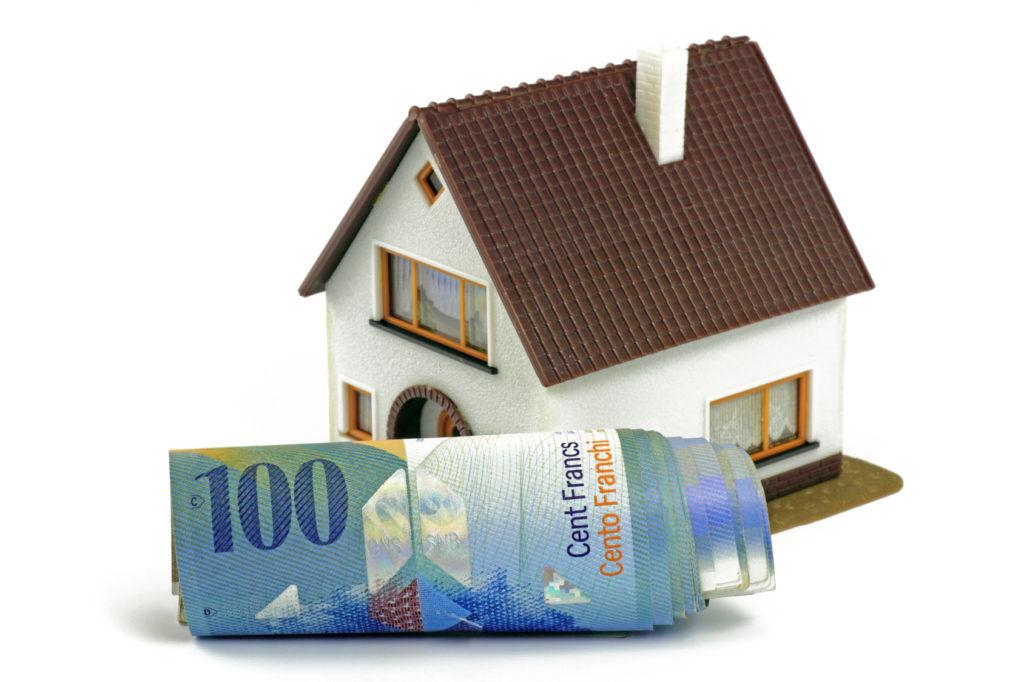 Wysoka rata kredytu we franku