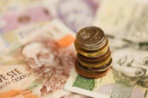 Korona czeska, kurs i historia waluty