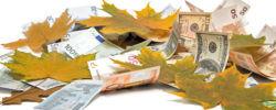 waluty w październiku