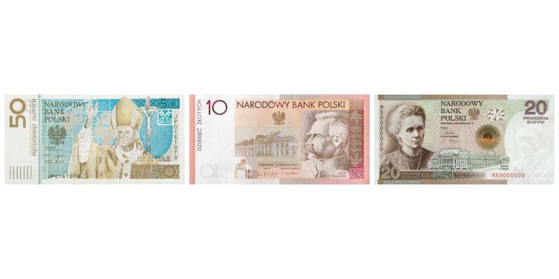 Polskie banknoty okolicznościowe - 50zł Jan Paweł II