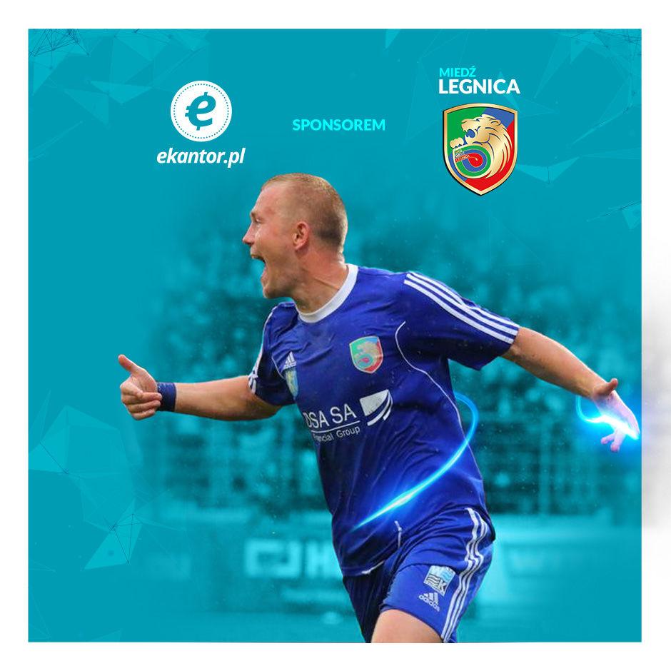 Ekantor.pl sponsorem Miedzi Legnica