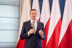 Na zdj. Wicepremier, minister rozwoju i finansów Mateusz Morawiecki