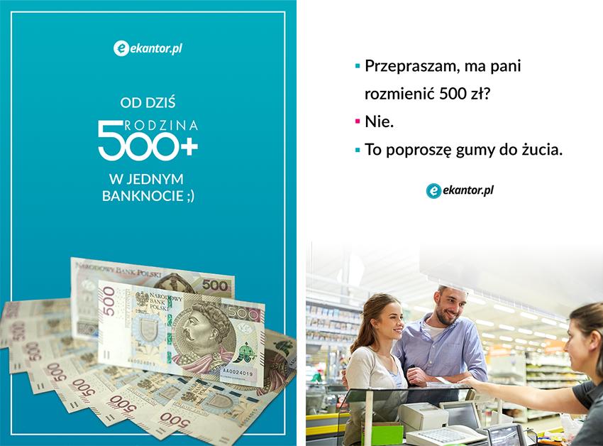 mem Ekantor.pl, 500 Plus