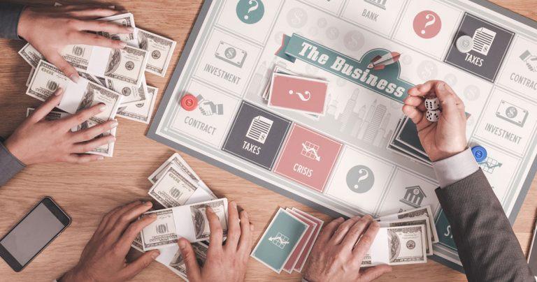Biznesowe gry planszowe