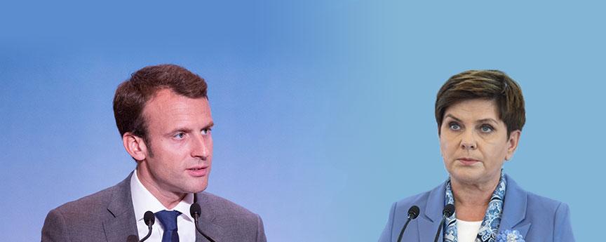 Emmanuel Macron, Beata Szydło
