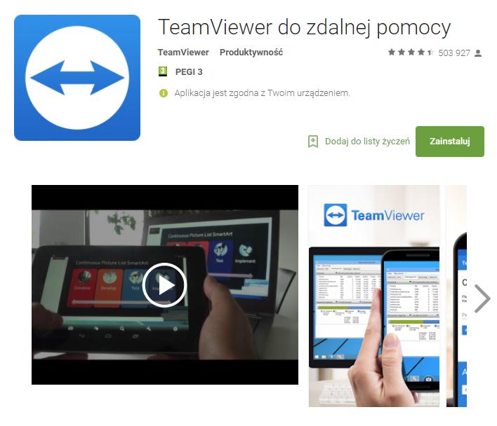 TeamViewer, aplikacje, biznes, Ekantor.pl