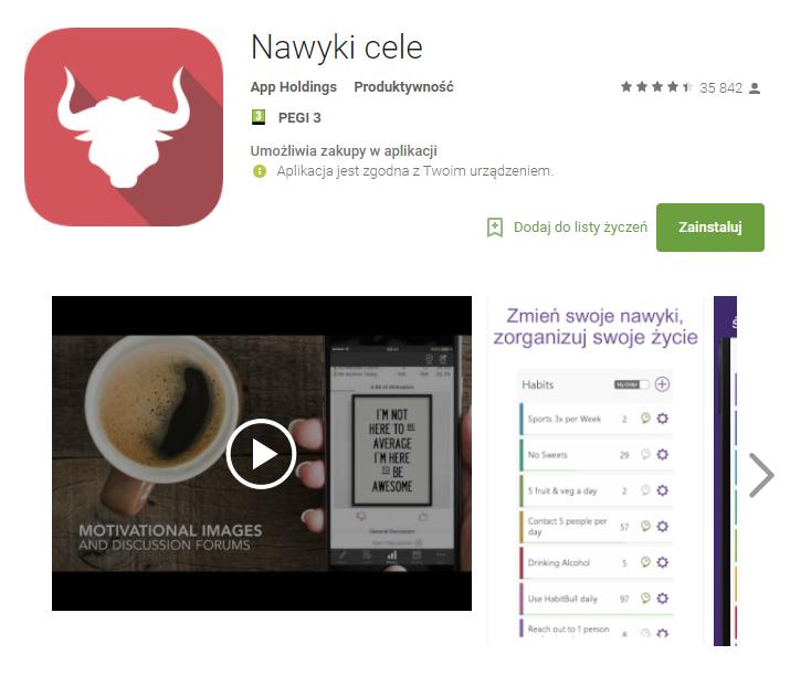 nawyki i cele, aplikacje, biznes, Ekantor.pl