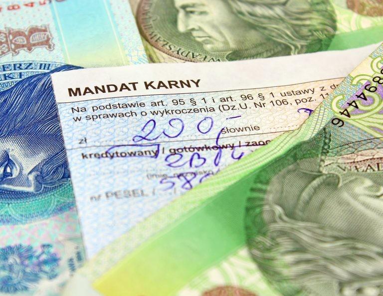 zmiany, mandat, płatność kartą