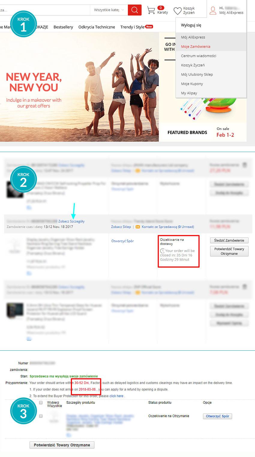 AliExpress, zakupy, sklep internetowy, Ekantor.pl