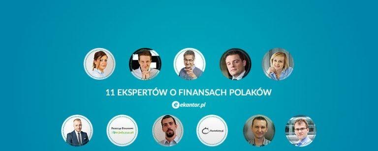 finanse polaków - 11 ekspertów