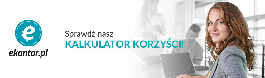 kalkulator walut Ekantor.pl