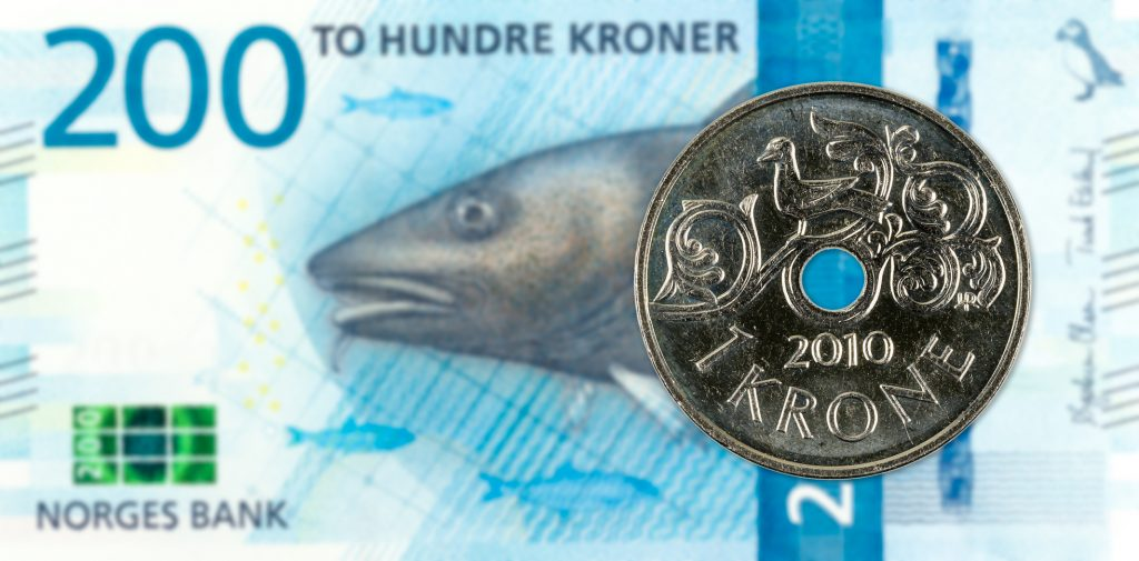 korona norweska, NOK, waluta Norwegii, Ekantor.pl