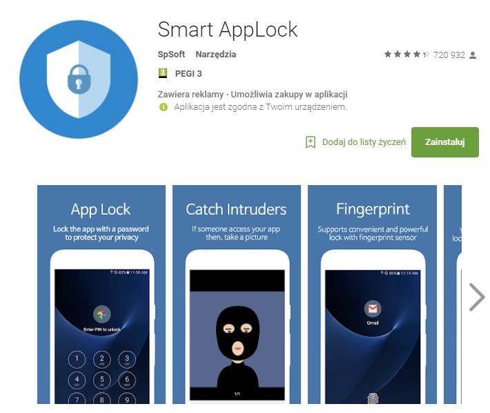 smart applock, bezpieczeństwo, smartfon, android, aplikacja, Ekantor.pl
