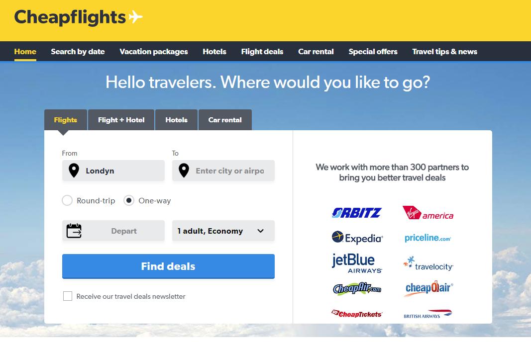 cheapflights, podróżowanie, loty, wyszukiwarka lotów, tanie loty, Ekantor.pl
