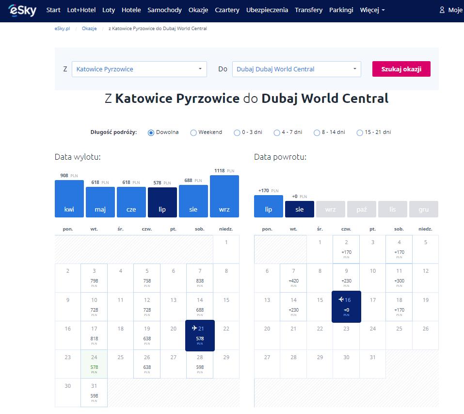 eSky, podróż, latanie, bilety lotnicze, Ekantor.pl