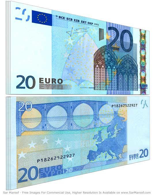 20 euro, euro, EUR, kurs euro, wymiana euro, sprzedaż euro, kupno euro, Ekantor.pl
