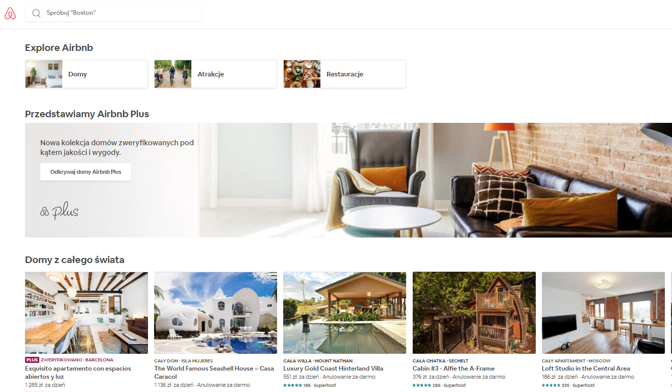 Airbnb, nocleg, rezerwacja noclegu, wyjazd, podróż, Ekantor.pl