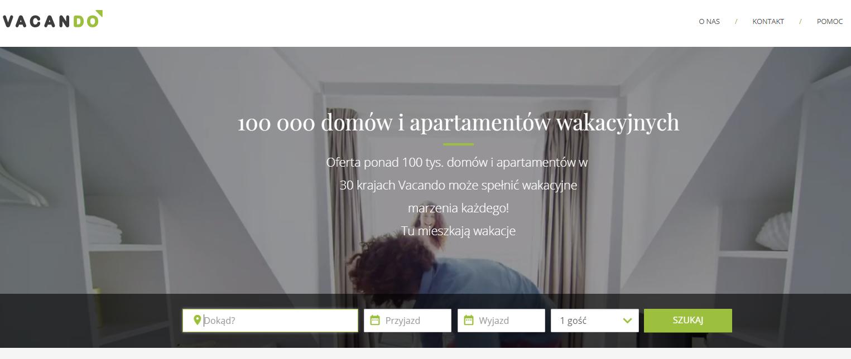 Vacando, nocleg, nocleg wakacje, rezerwacja noclegów, Ekantor.pl