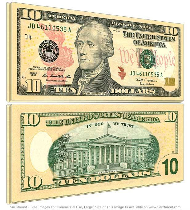 10 dolarów, dolar, dolar amerykański, USD, wymiana dolara, kurs dolara, sprzedaż dolara, dolar kupno, Ekantor.pl
