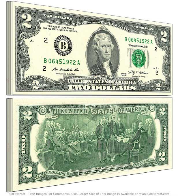 2 dolary, dolar, dolar amerykański, USD, wymiana dolara, kurs dolara, sprzedaż dolara, dolar kupno, Ekantor.pl