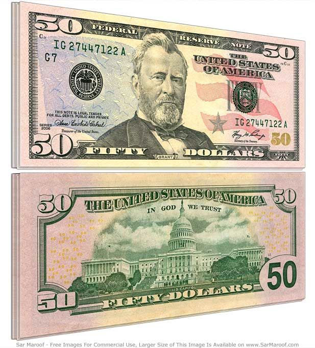 50 dolarów, dolar, dolar amerykański, USD, wymiana dolara, kurs dolara, sprzedaż dolara, dolar kupno, Ekantor.pl