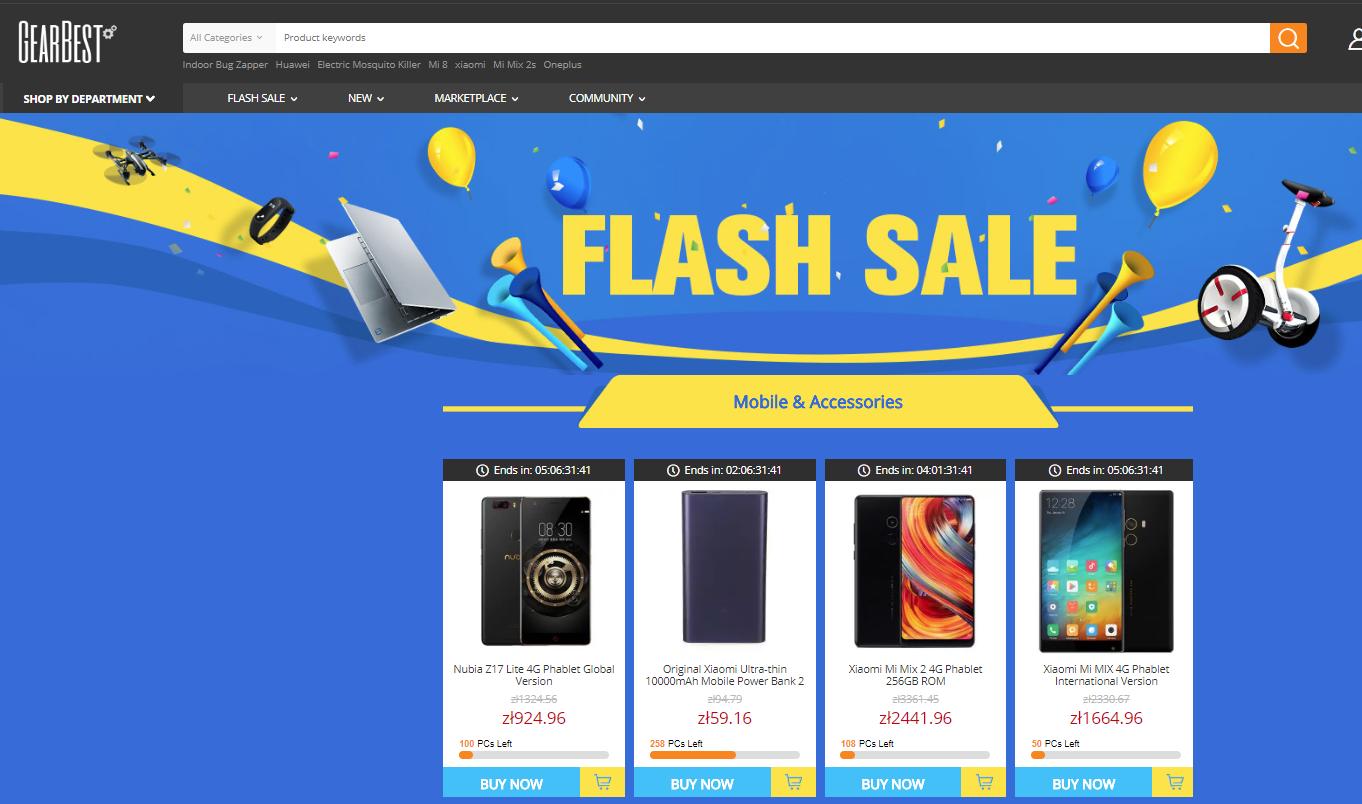 gearbest, zakupy online, zakupy z Azji, Ekantor.pl