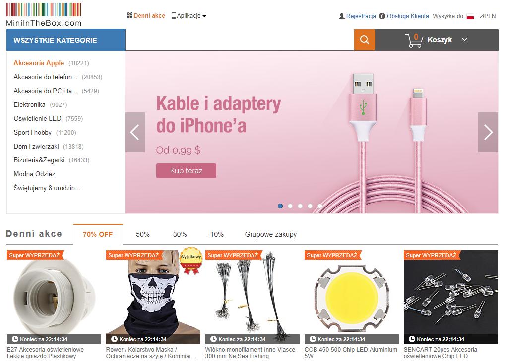 miniinthebox, zakupy, zakupy w Chinach, zakupy z Azji, Ekantor.pl