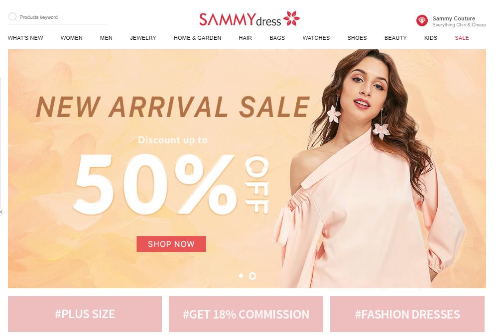 sammy dress, zakupy w Chinach, zakupy z Azji, zakupy online, Ekantor.pl