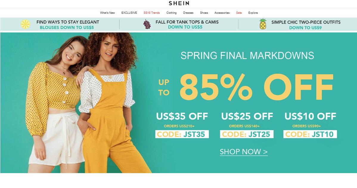 shein, zakupy, zakupy z Azji, zakupy z Chin, Ekantor.pl