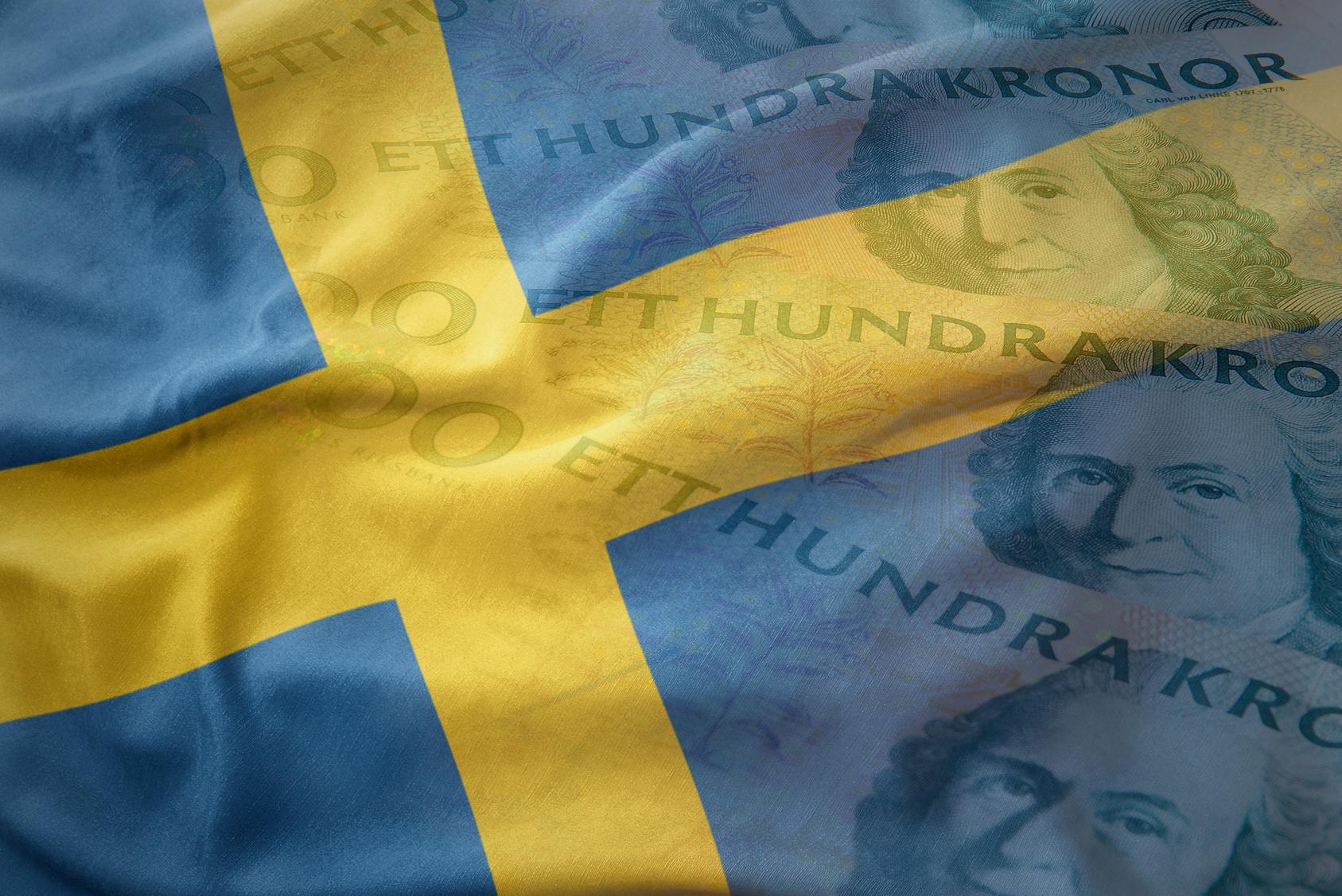 Szwecja, flaga Szwecji, korona szwedzka, SEK, Ekantor.pl