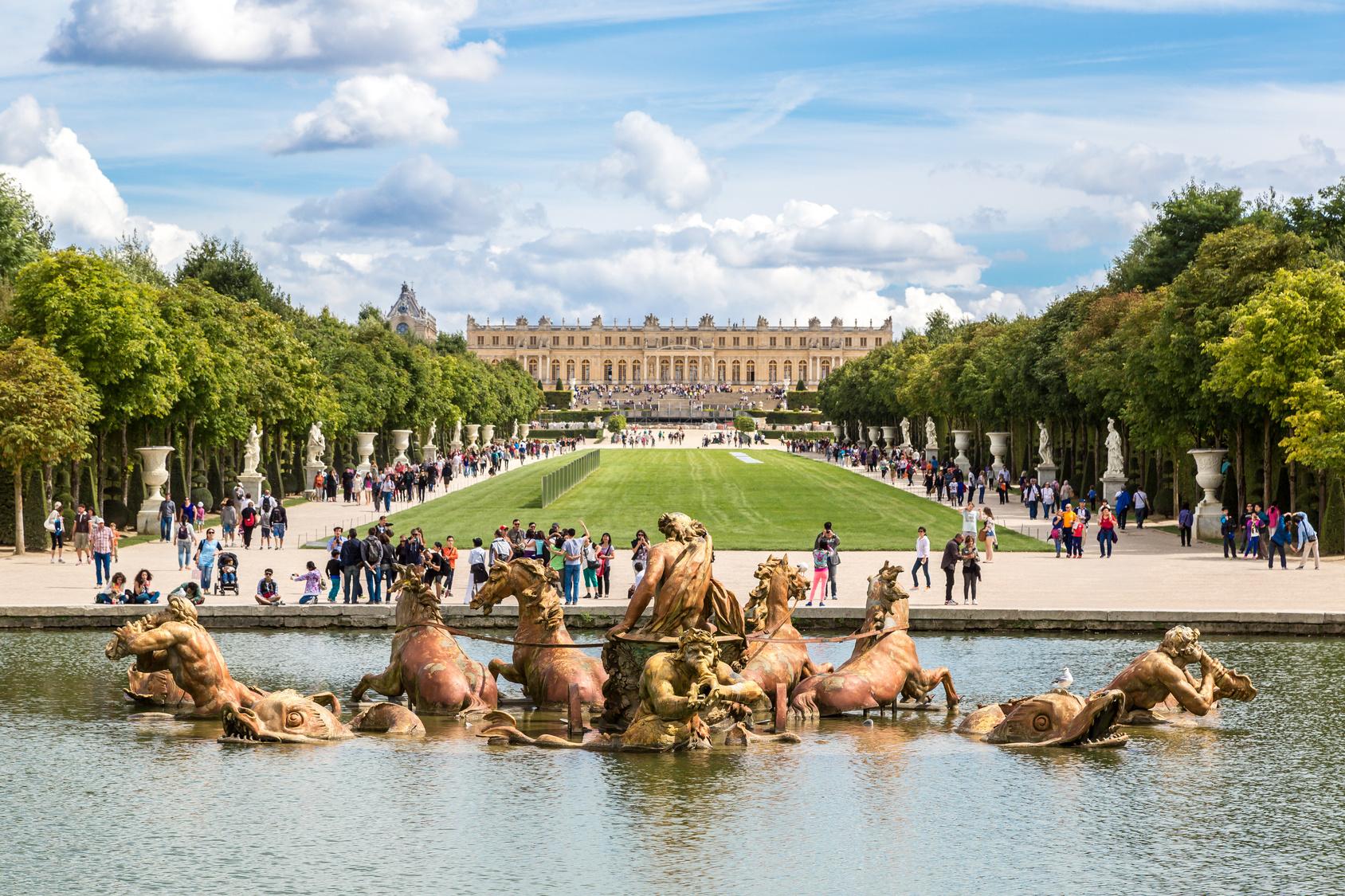Wersal, Paryż, Francja, podróż, wymiana walut, Ekantor.pl