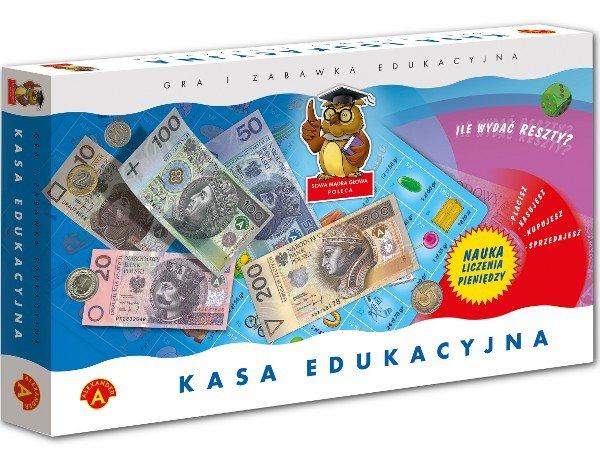 Kasa edukacyjna, zabawa, gra, gra rodzinna, edukacja finansowa, Ekantor.pl
