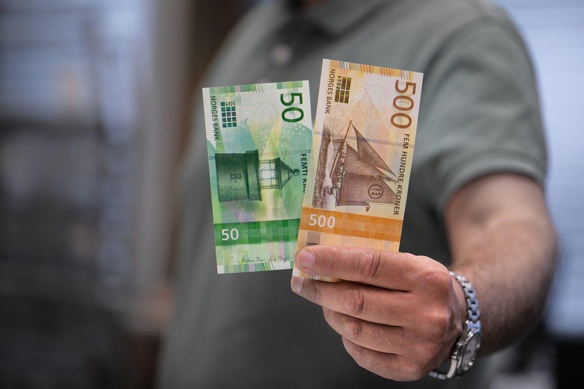 NOK, korona, korona norweska, Norwegia, nowe banknoty, wymiana walut, Ekantor.pl