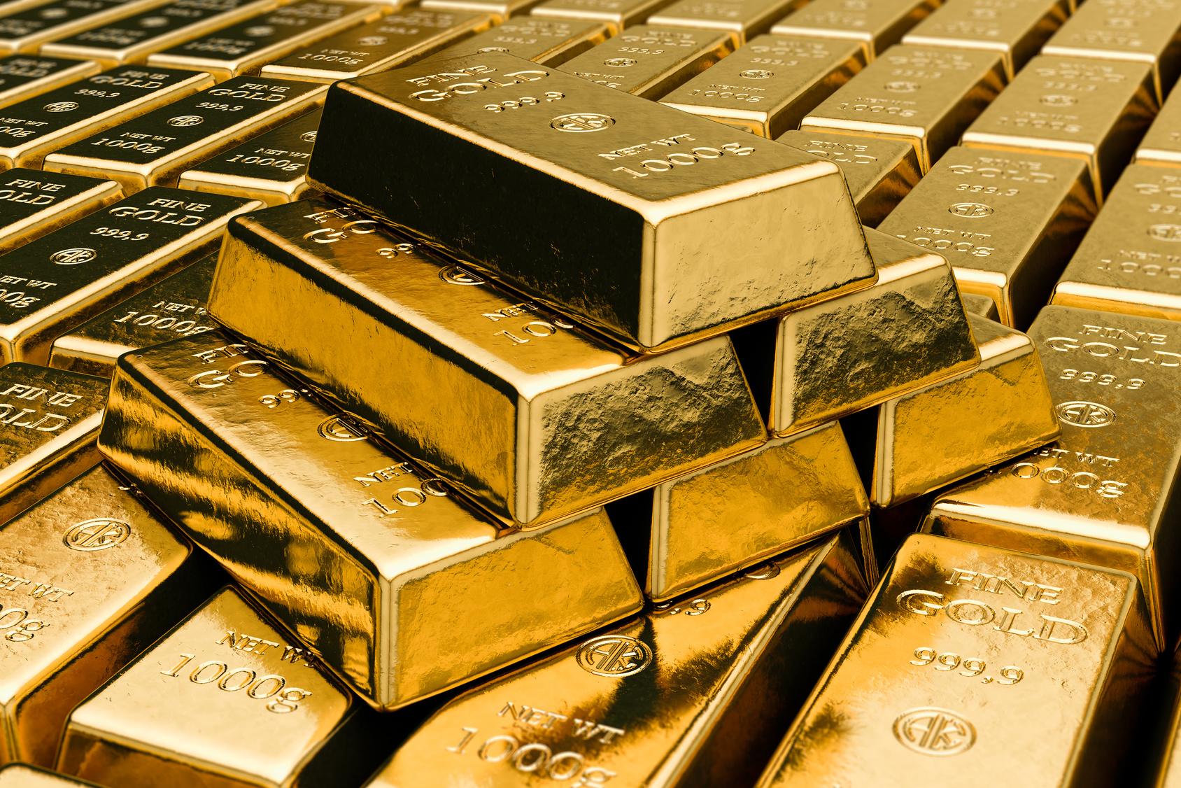 złoto, sztabki złota, sztabka, rezerwa złota, bank, bank centralny, wymiana walut, Ekantor.pl