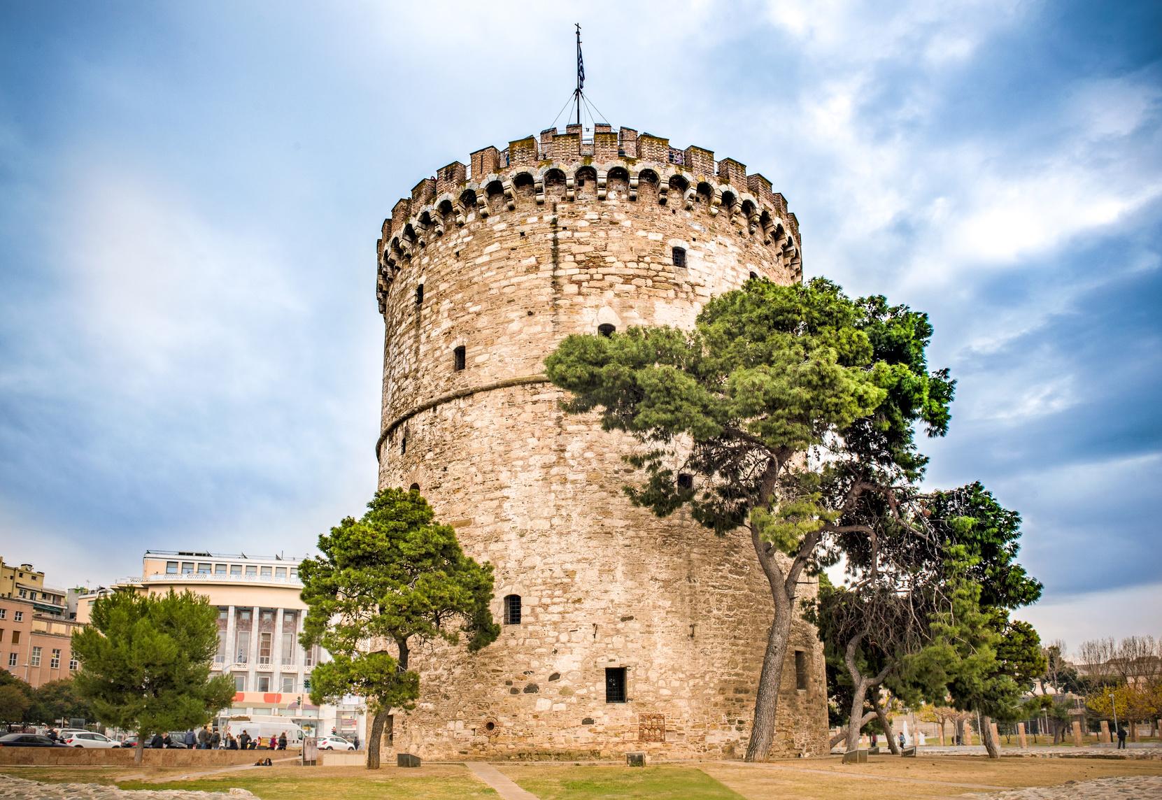 Biała Wieża, Saloniki, Grecja, podróż, turystyka, kantor internetowy, Ekantor.pl
