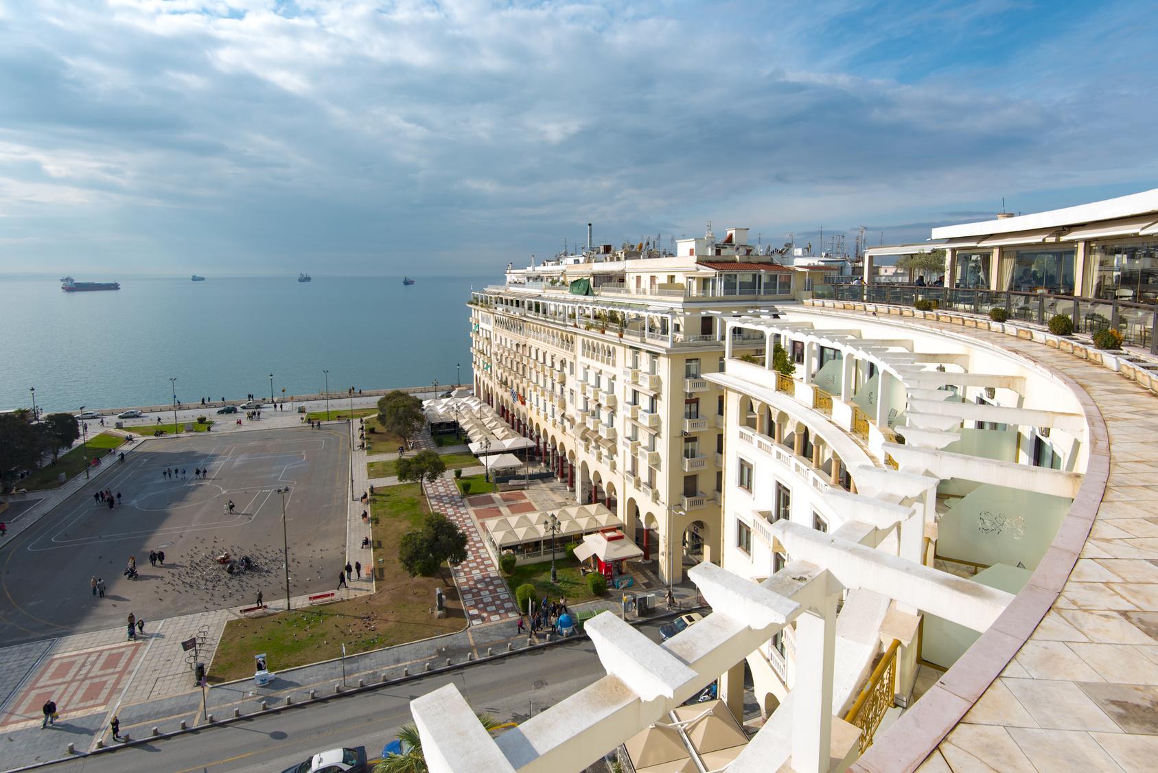 Plac Arystotelesa, Saloniki, Grecja, zwiedzanie, podróż, wymiana walut, Ekantor.pl