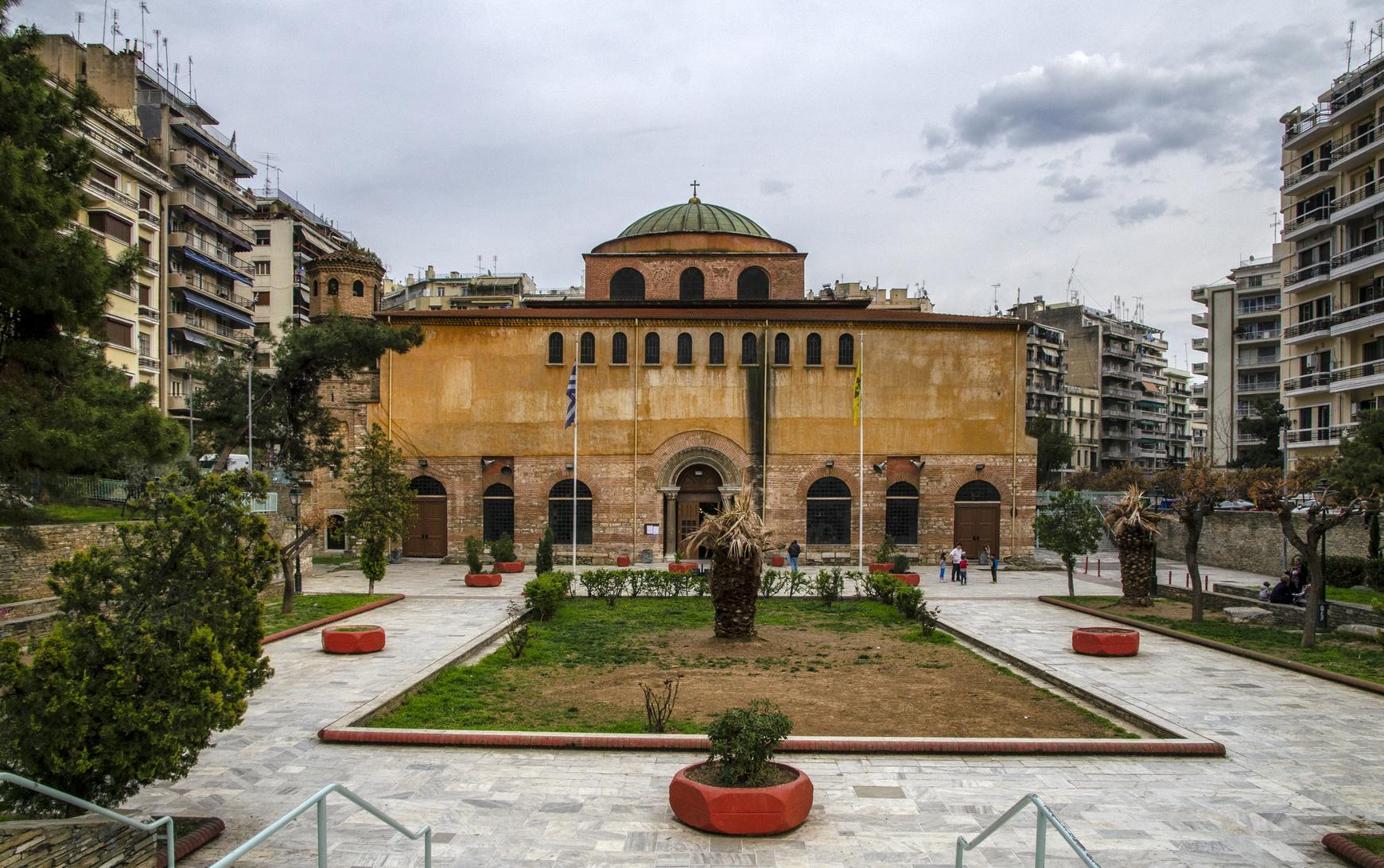 Agia Sophia, Saloniki, Grecja, zwiedzanie, turystyka, podróż, wymiana walut, Ekantor.pl