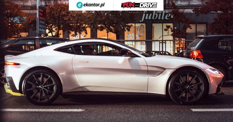 Aston Martin Vantage, Fun&Drive, samochód, test samochodu, auta, ile kosztuje, wymiana walut, Ekantor.pl