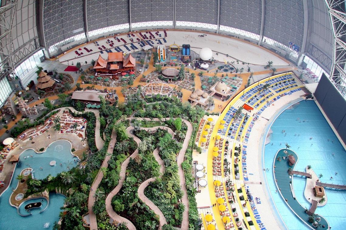 Tropical Islands, park wodny, park rozrywki, podróż, podróż z dzieckiem, Niemcy, Berlin, Ekantor.pl