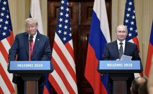Wladimir Putin i Donald Trump Helsinki 2018 Ekantor pl kantor internetowy blog finansowy-min