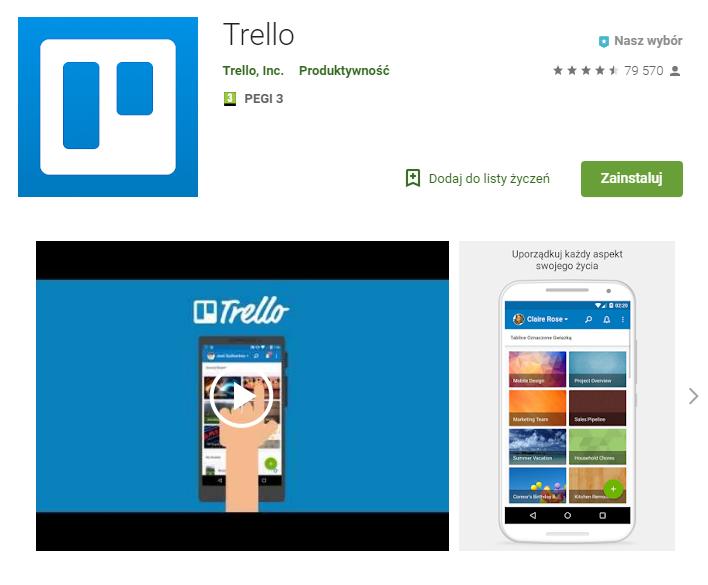Trello – Aplikacja aplikacja do pracy zarządzanie czasem chat ekantor.pl
