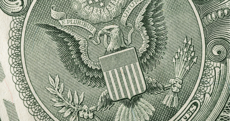 symbole na banknotach - ekantor.pl -1$ dolar, złotówka, euro symbol - kantor internetowy USD PLN EUR