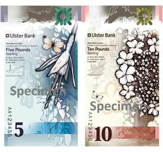 banknot wertykalna pionowa grafika Ulestra