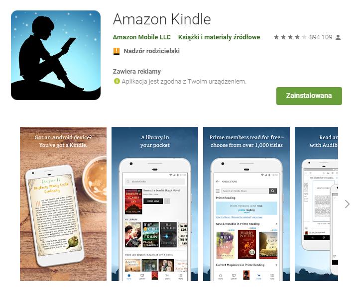 Amazon Kindle – Aplikacje w Google Play_pobierz_top aplikacji do czytania ksiazek_aplikacje ebook_najlepsze aplikacje do czytania_ekantor pl