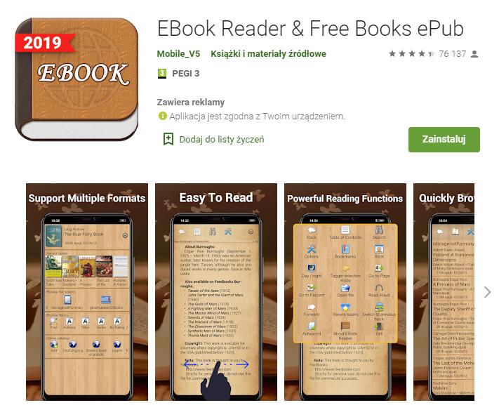 EBook Reader & Free Books ePub – Aplikacje w Google Play_pobierz_top aplikacji do czytania ksiazek_aplikacje ebook_najlepsze aplikacje do czytania_ekantor pl