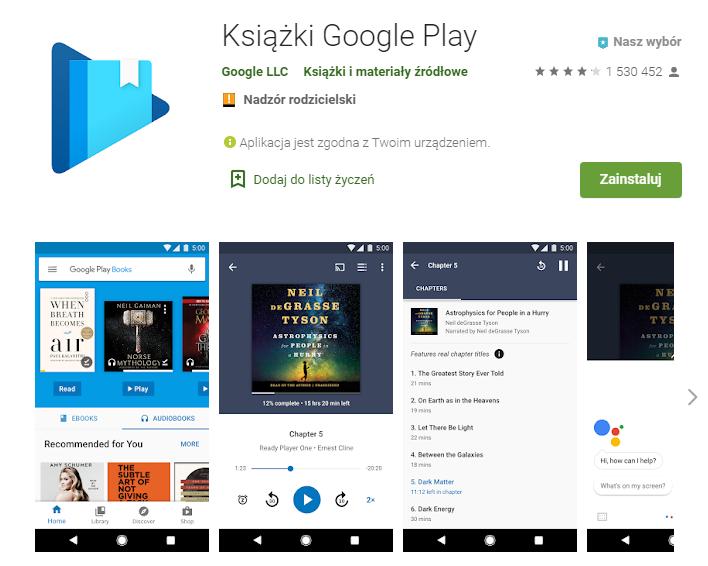 Książki Google Play – Aplikacje w Google Play_pobierz_top aplikacji do czytania ksiazek_aplikacje ebook_ekantor pl