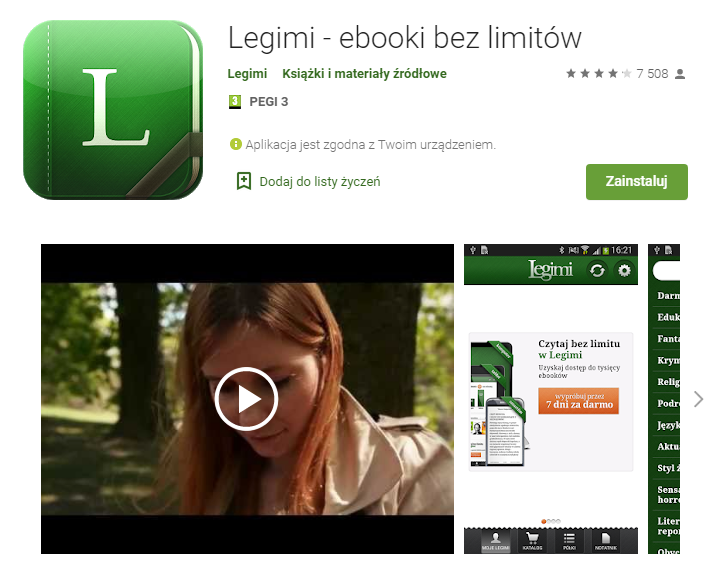 Legimi - ebooki bez limitów – Aplikacje w Google Play_pobierz_top aplikacji do czytania ksiazek_aplikacje ebook_najlepsze aplikacje do czytania_ekantor pl