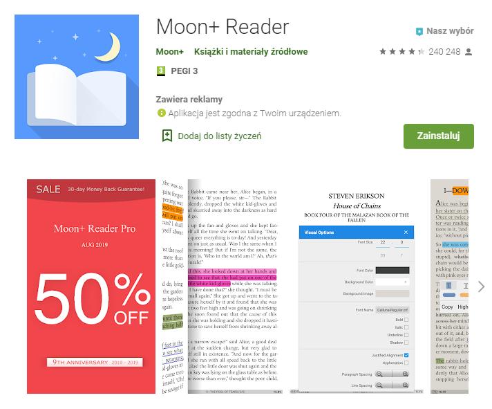 Moon+ Reader – Aplikacje w Google Play_pobierz_top aplikacji do czytania ksiazek_aplikacje ebook_ekantor pl